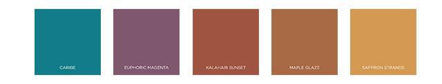 Behr 2021 Color Trends - The Optimistic View Palette