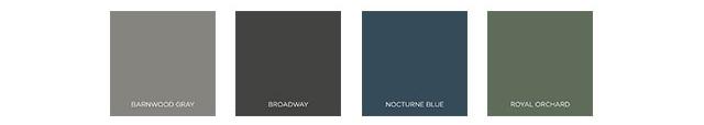 Behr 2021 Color Trends - The Quiet Haven Palette