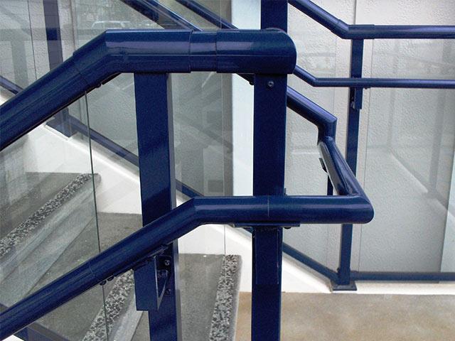 handrail on stairway