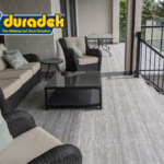 outdoor living trends in 2020 include Duradek vinyl decking