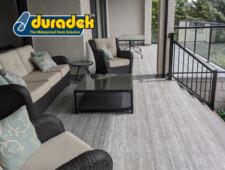 outdoor living trends in 2020 include Duradek vinyl decking