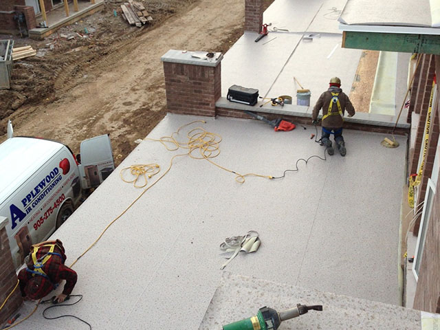 Waterproof Deck Design Installation